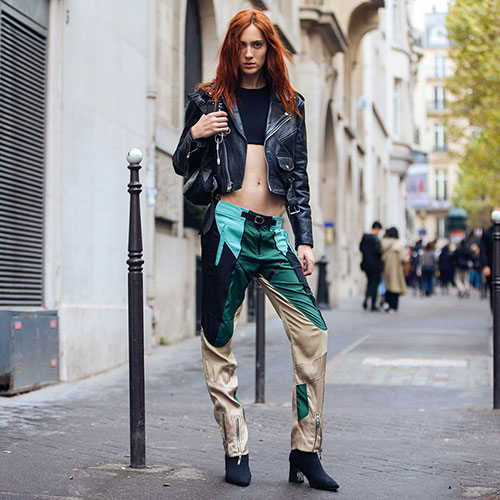 Teddy Quinlivan models 2017